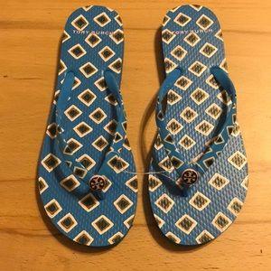 NWT Tory Burch Flip Flops